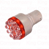 QY25-12 T25 BA15S 12LED RED